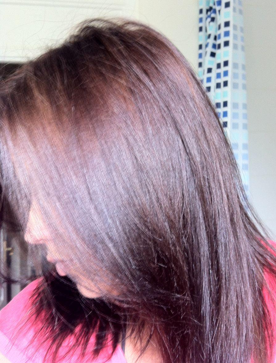 Iced Mocha Hair Color