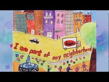 drawing for topic my neighbourhood google search ideas my neighbourhood poster for children google search
