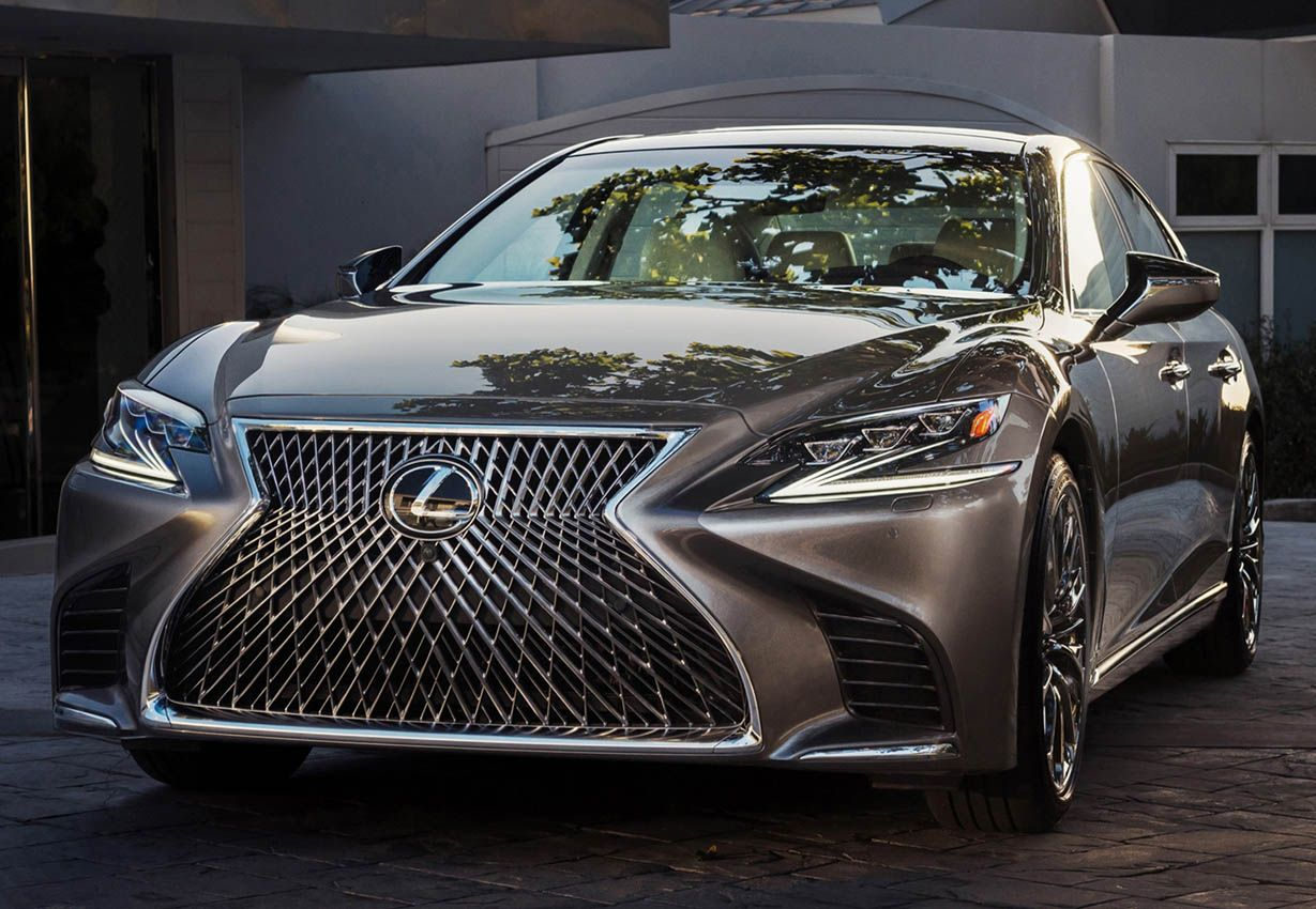 Introducing new 2018 lexus ls model with high comfortable safety