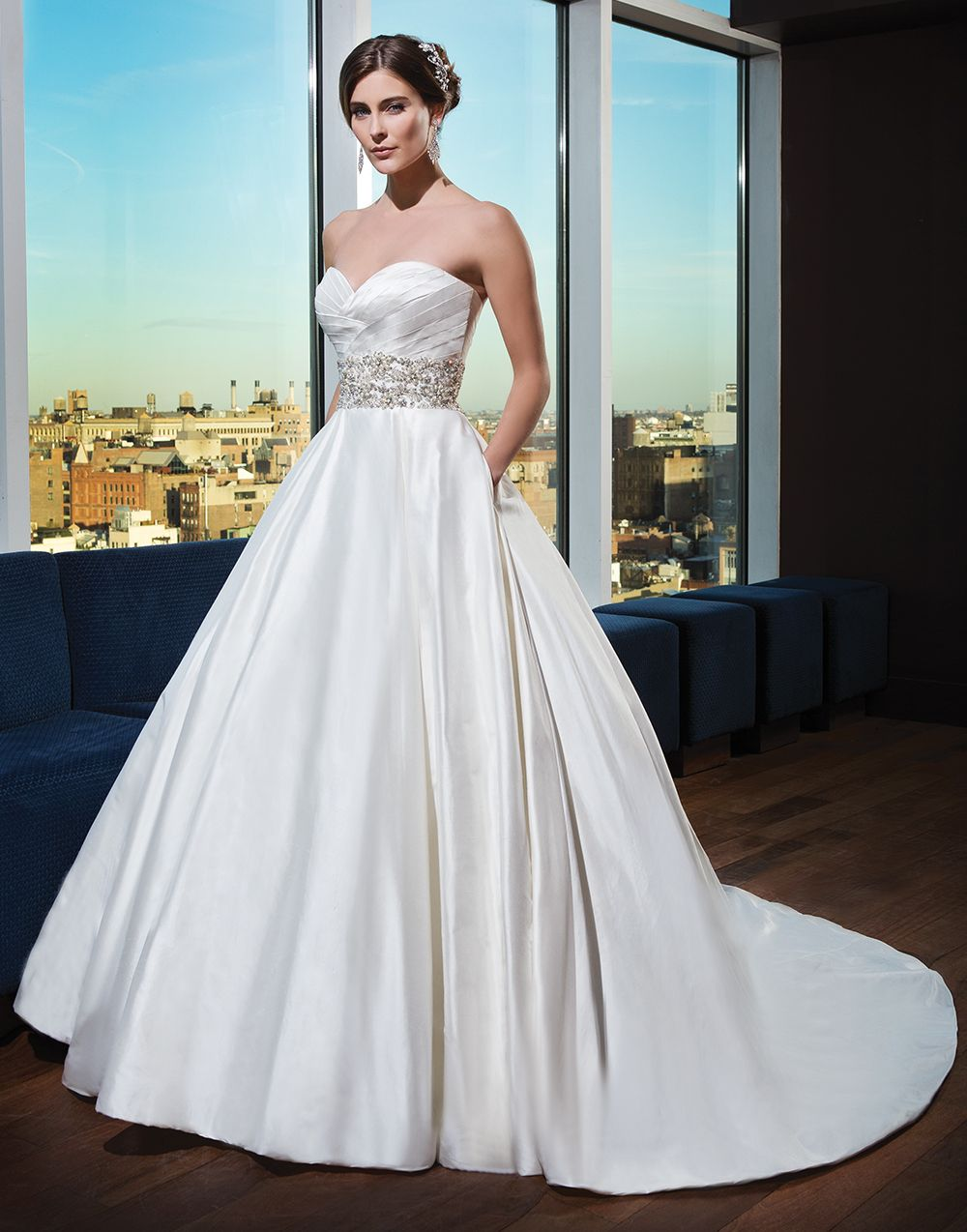 Justin Alexander signature wedding dresses style 9752 Silk