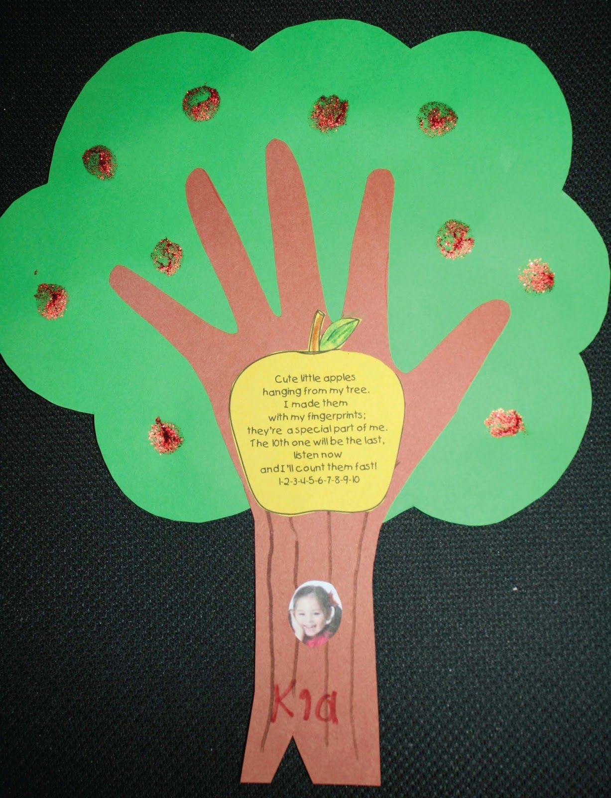 Keepsake Apple Tree Craftivity