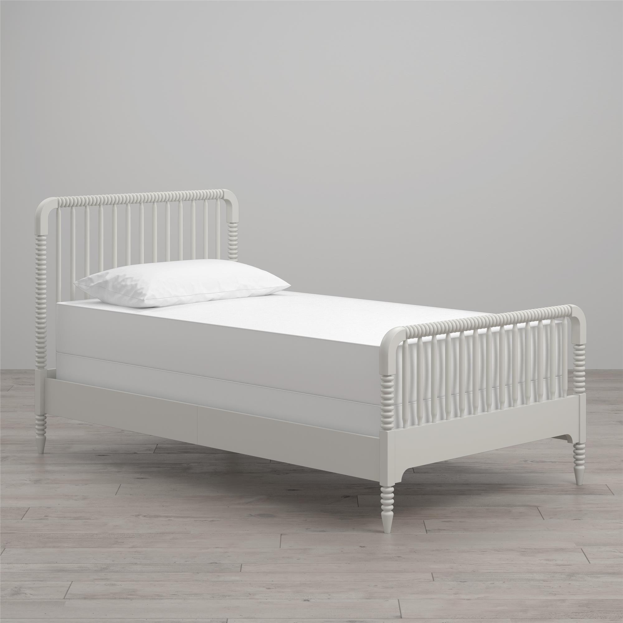 Home Bed, Bed slats, White bedding