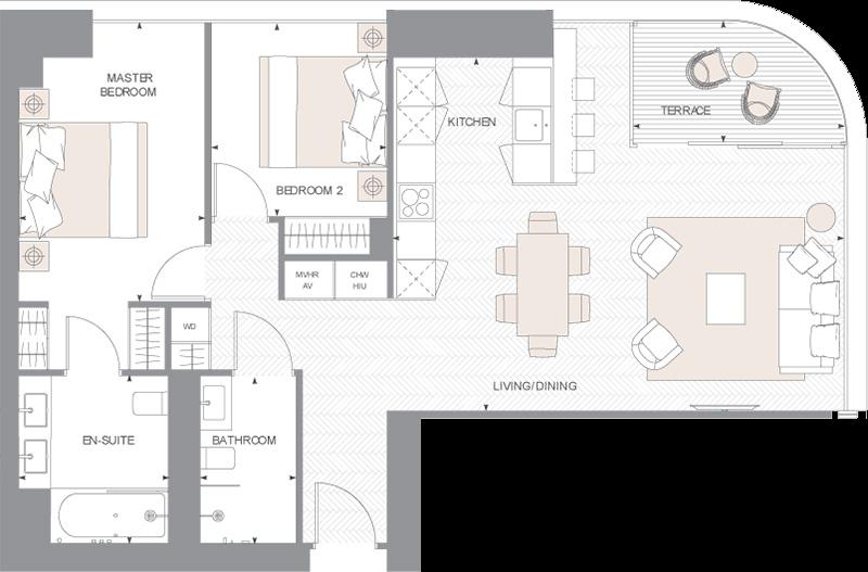 Floorplans Principal Tower Floor Plans Apartment Plans Luxury Apartments