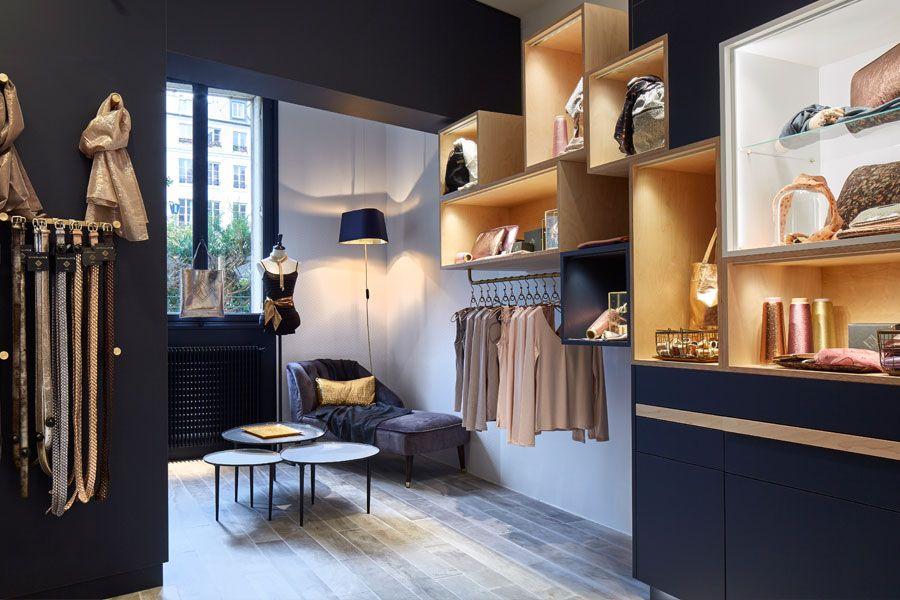 Meubles Sur Mesure Pour La Boutique Maison Lurex Paris Mobilier De Salon Decoration Maison Mobilier