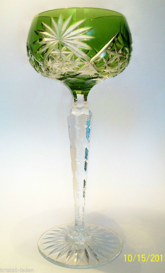 Römergläser val lambert bleikristall römer römerglas weinrömer helles grün