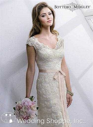 Bridal Gowns Sottero and Midgley Diana Bridal Gown Image 3