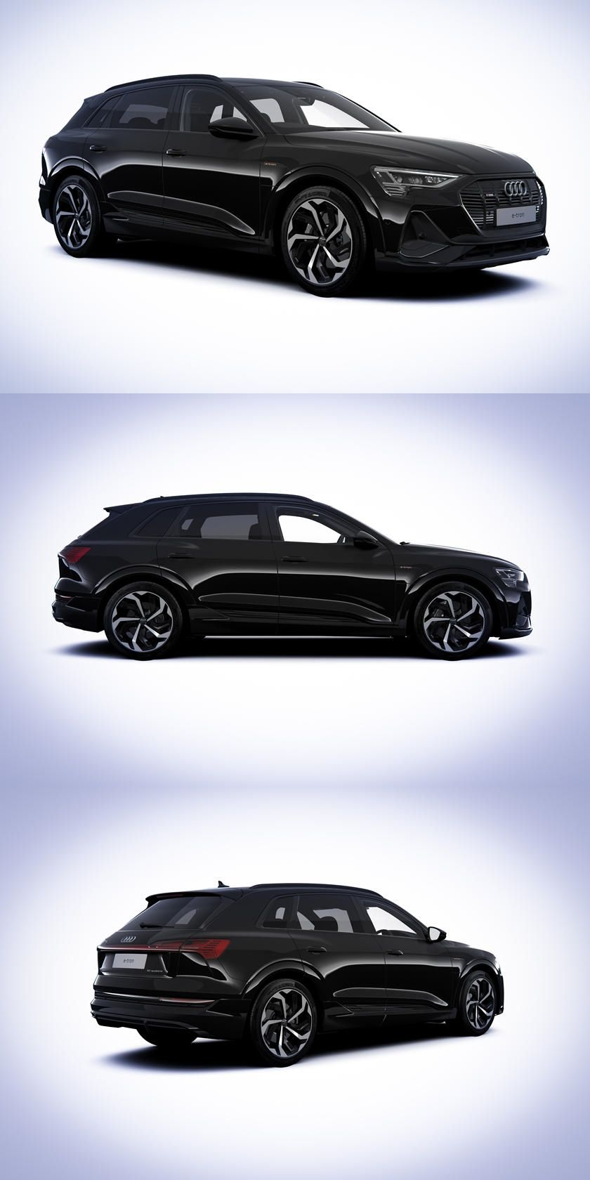 Audi etron Black Edition Shows The Dark Side Of