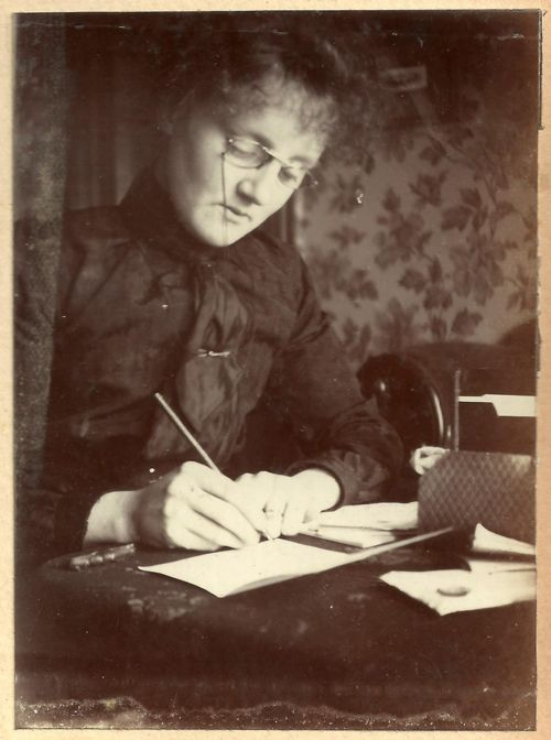 This is what i think I look like when I'm writing letters.