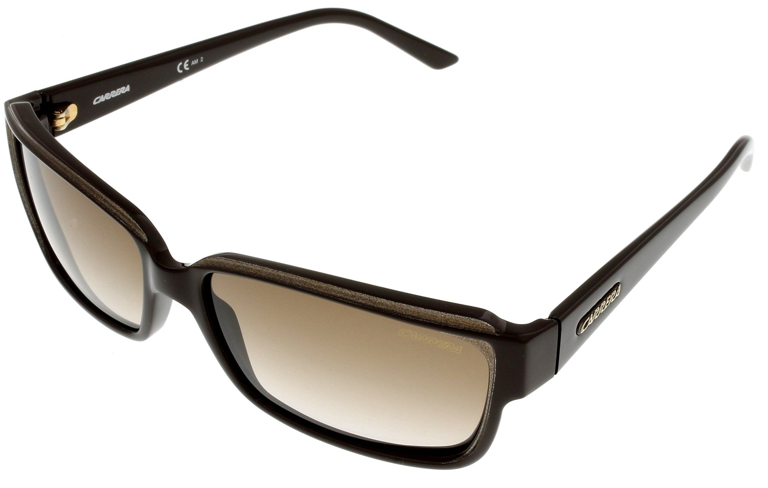 Carrera Sunglasses Womens CARLA 31581 Brown. Frame Color:Brown. Lens Color: Brown Gradient. Gender:Unisex. Case Included.