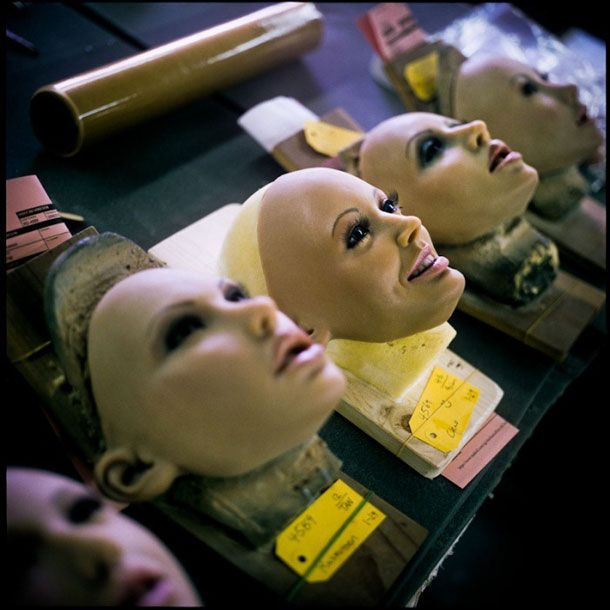 Image result for inside the real doll factory