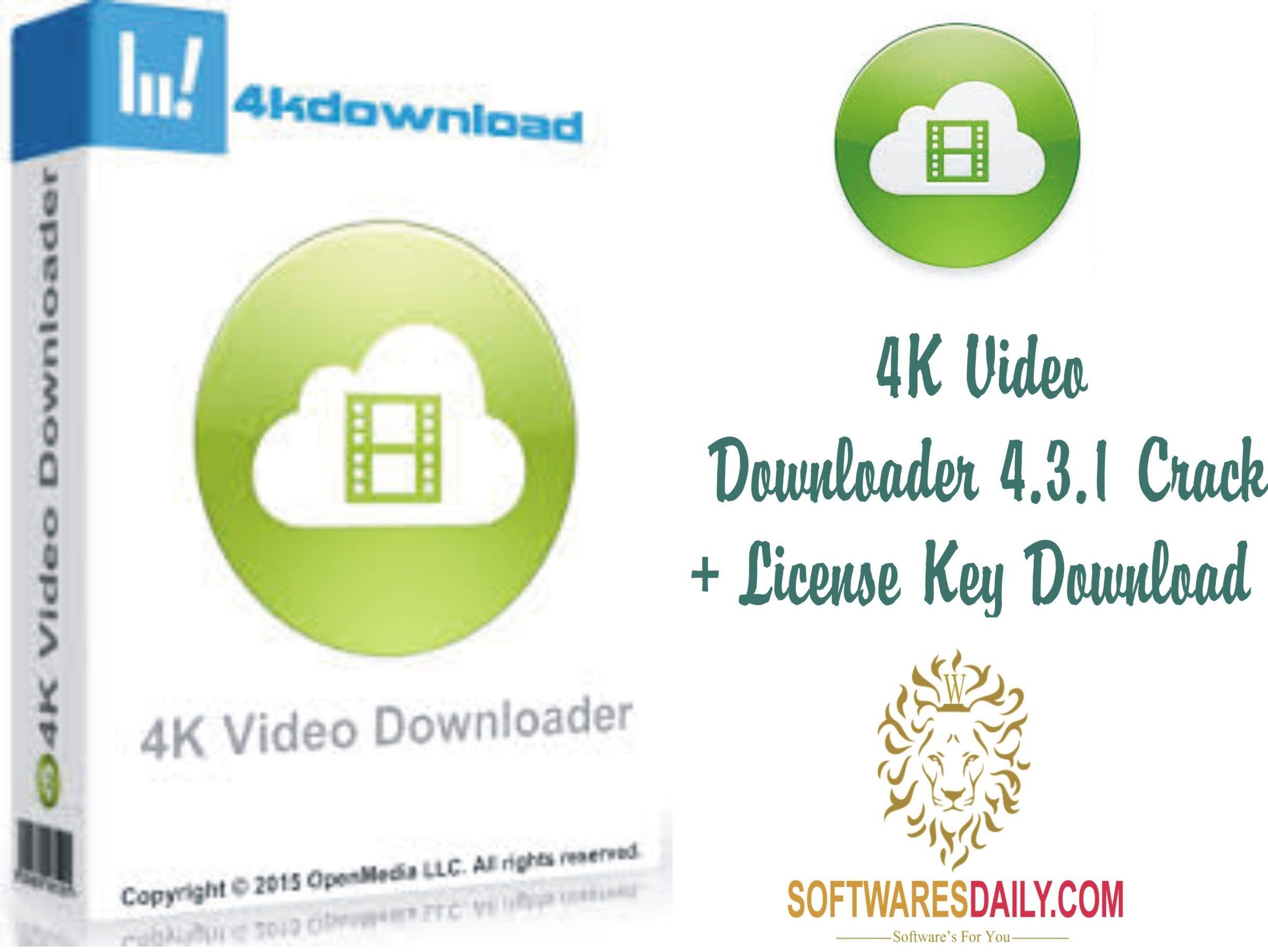 download 4k video downloader license key
