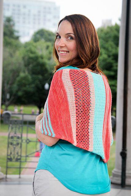 Riley Rose Shawl pattern by Jennifer Lassonde