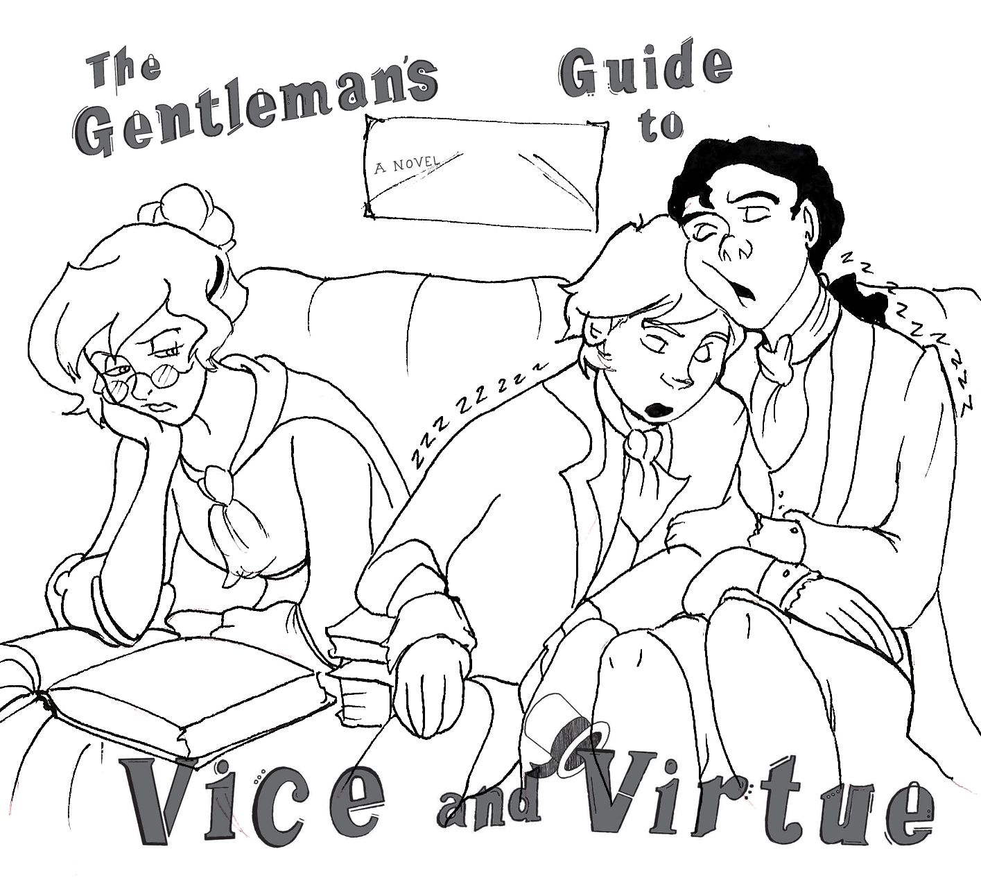 Download FREE Coloring Pages for The Gentleman's Guide to