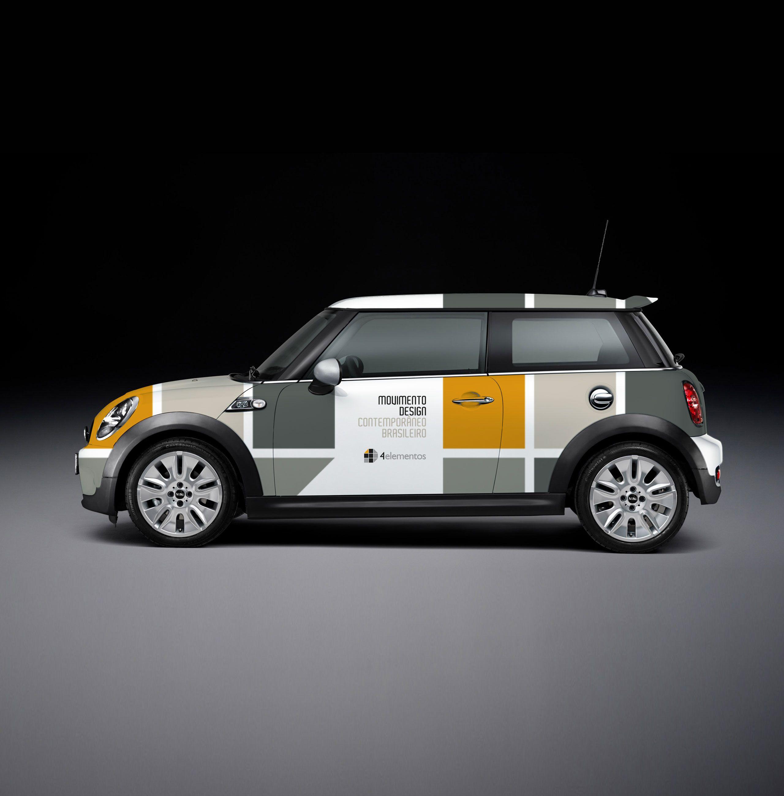 Carro personalizado para a Loja 4 Elementos.