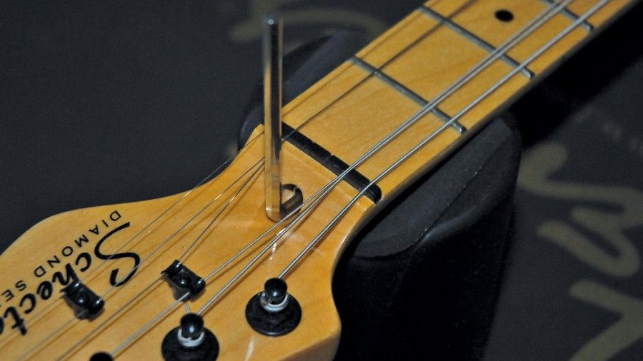 How To Adjust A Truss Rod To Fit Your Playing Style Guitar Slide Guitar Rod
