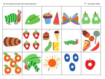 picture regarding The Very Hungry Caterpillar Story Printable referred to as The Rather Hungry Caterpillar University student Mini-guide coaching
