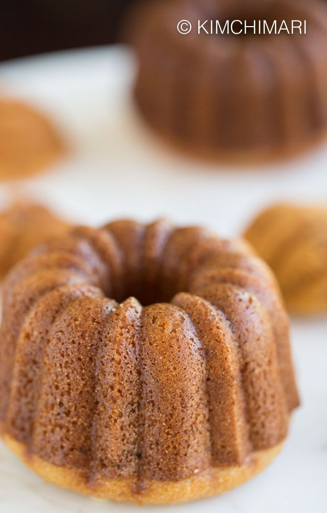 Sweet Rice Bundt Cake | Recipe | Sweet rice flour recipe ...
