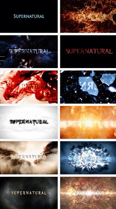 Seasons 1 12 title cards gifset supernatural - Supernatural season 8 title card ...