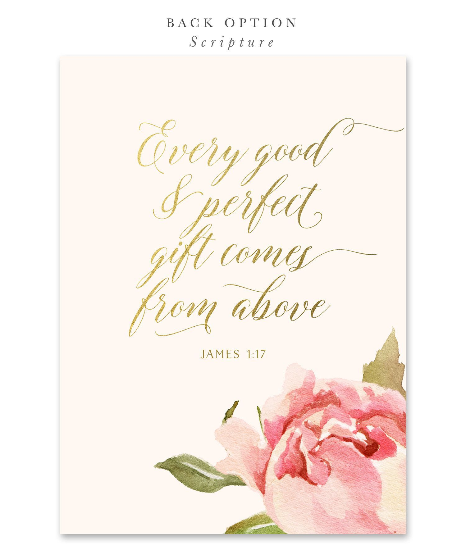 Everly: Baby Shower Invitation {Pink} | Shower invitations, Pink ...