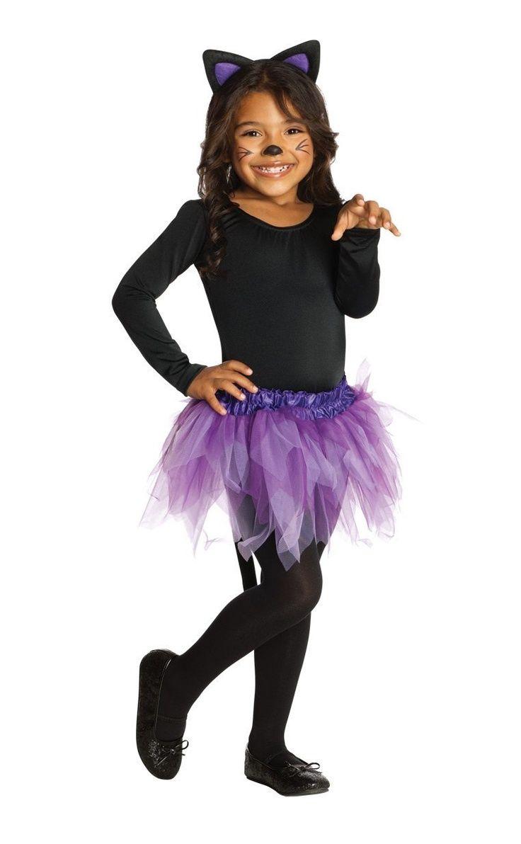 girl cat halloween costumes | Rubies Toddler Girls Black Purple ...