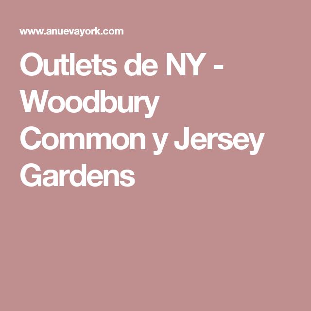 Outlet New Jersey Gardens Como Llegar