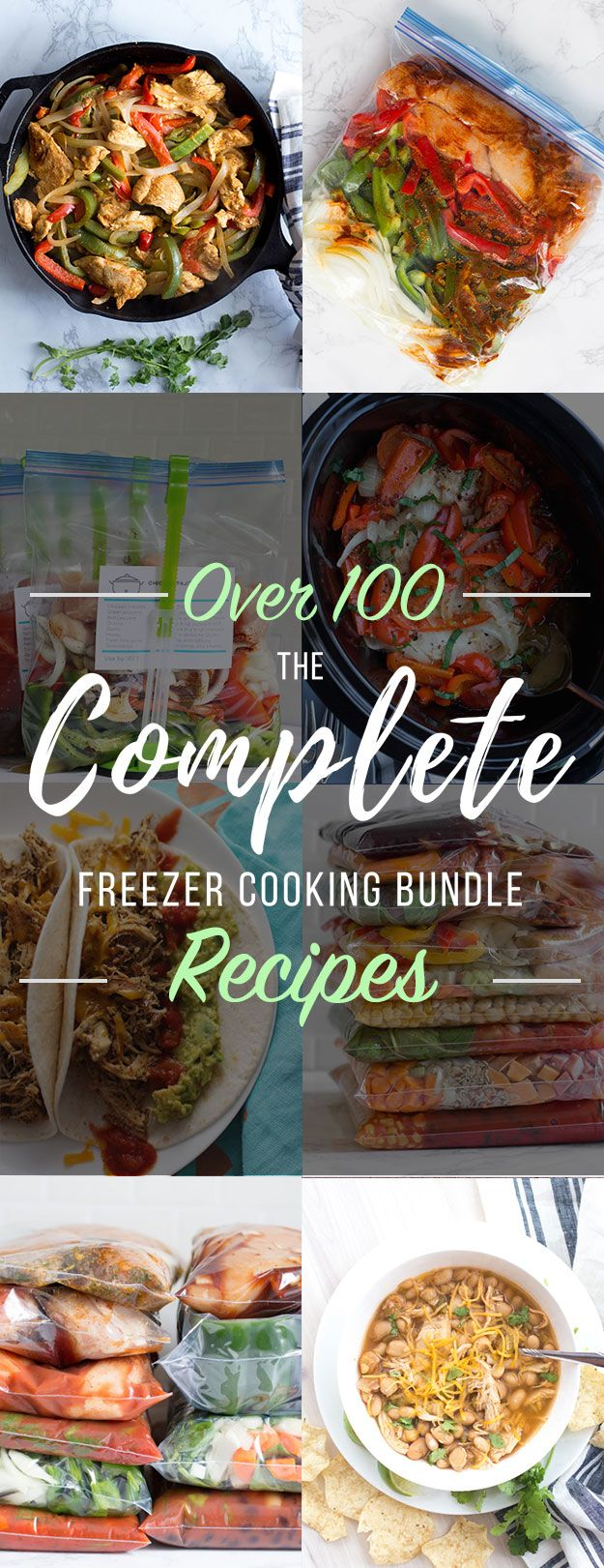 100 easy recipes that you can freeze without any cooking ahead of 100 easy recipes that you can freeze without any cooking ahead of time save time save money eat healthy freezer meals pinterest forumfinder Choice Image