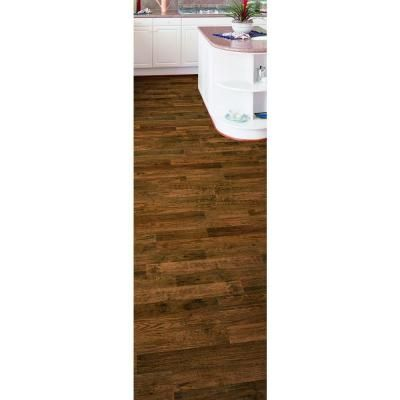 Trafficmaster Kingston Peak Hickory 8 Mm Thick X 7 19 32 In Wide 50 25 Length Laminate Flooring 21 44 Sq Ft Case Fb0346dyi2856wg001 At The