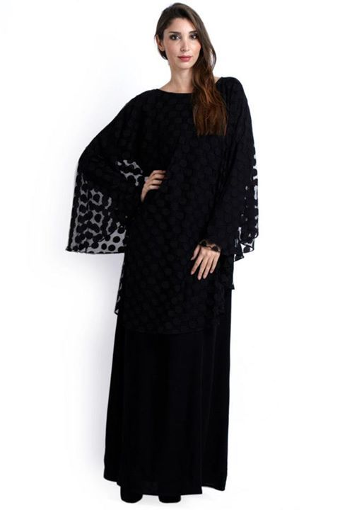 9936cac4dd The Pancho Abaya..merging styles for something uber stylish — at Dubai