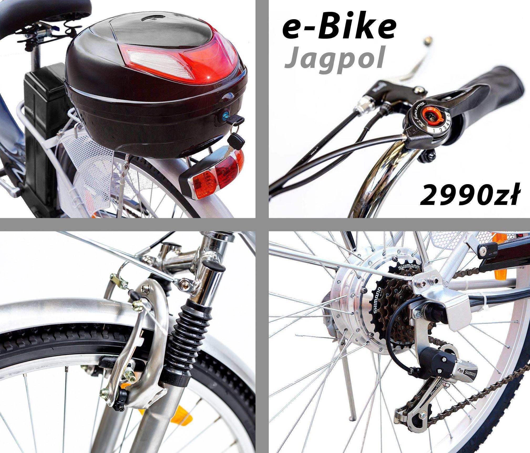 Rower Elektryczny 26 250w 36v E Bike Czarny 7698961613 Oficjalne Archiwum Allegro Ebike Bicycle Bike