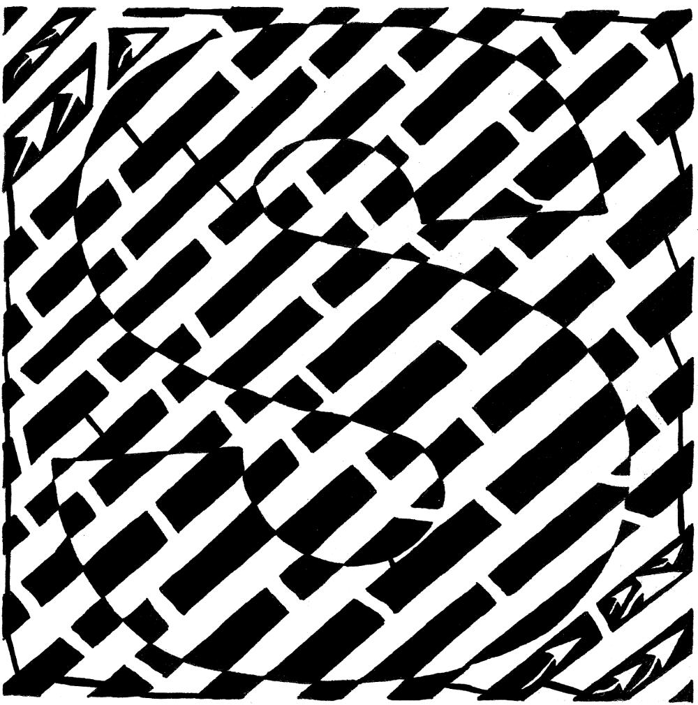 Op Art Letters Lesson Optical illusions art, Op art
