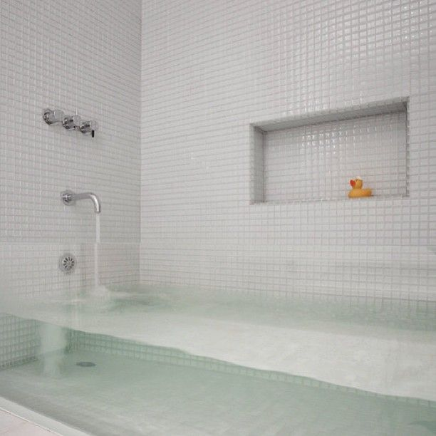 The white tiles and transparent bathtub almost makes this bathroom on water laboratory, kitchen laboratory, basement laboratory, safe laboratory, art laboratory, christmas laboratory, college laboratory, food laboratory,