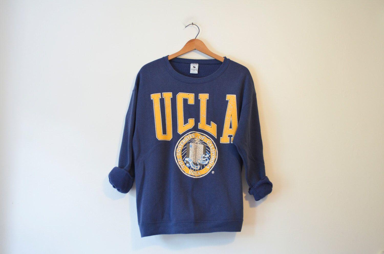 Vintage Blue University of California Los Angeles UCLA Bruins Sweatshirt by  TheHabbitsofRabbits on Etsy https  b8d14d055