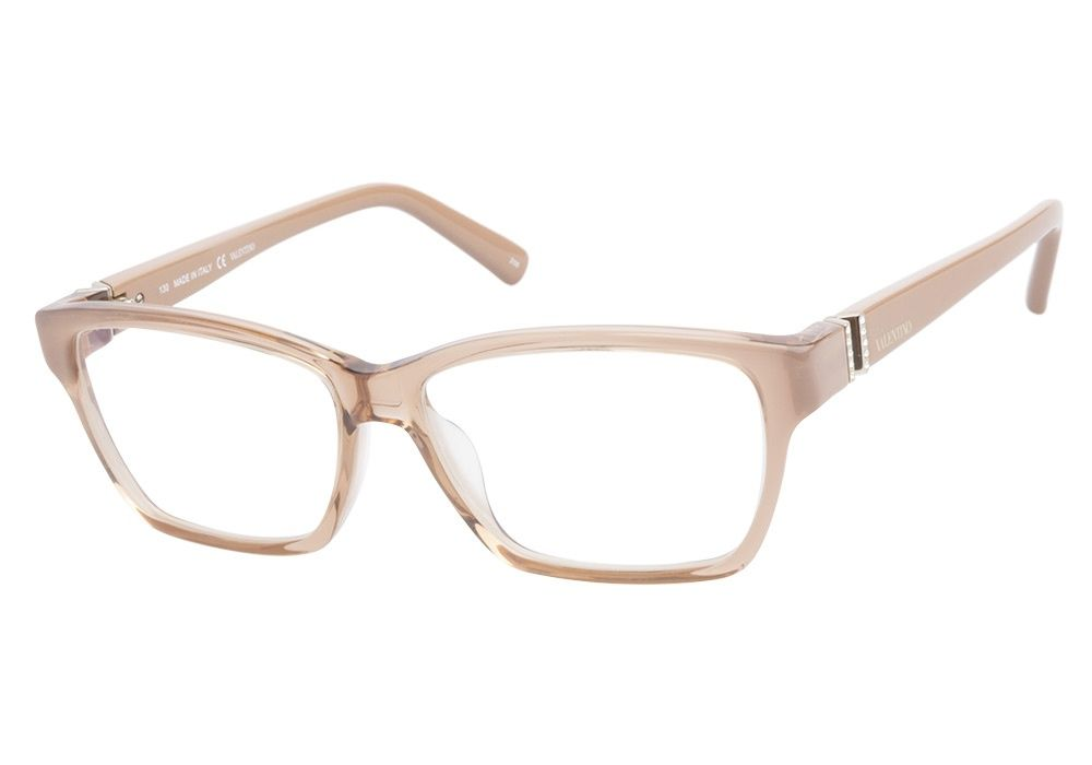 Valentino V2616R 610 Rose eyeglasses are delicately feminine. This ...