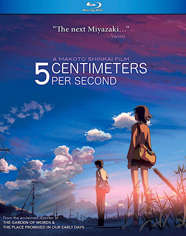 5 CENTIMETERS PER SECOND BLURAY (DISCOTEK) Animes to