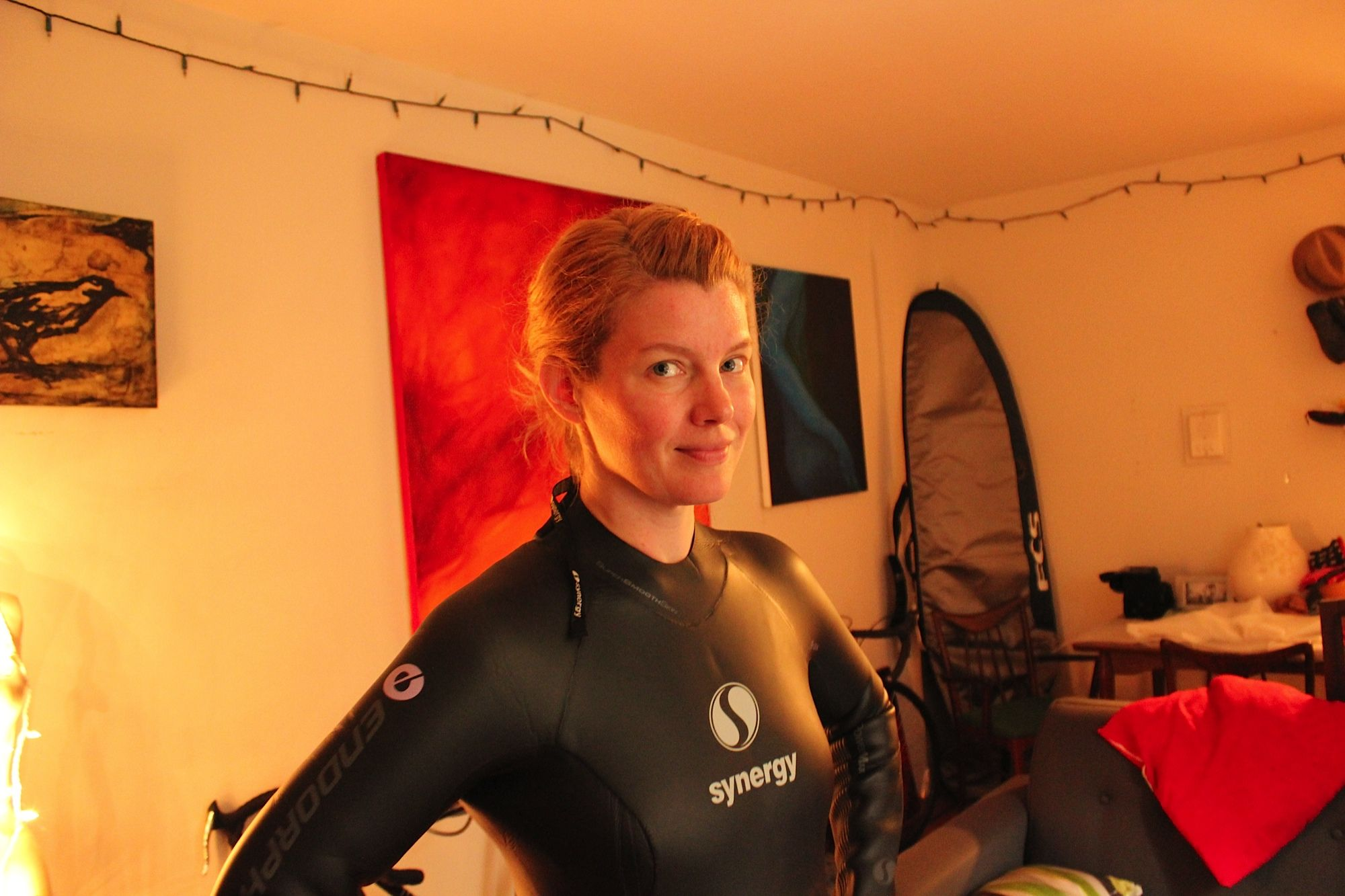 Maggie's Supa Suit - Check out this blog about the Synergy Endorphin!