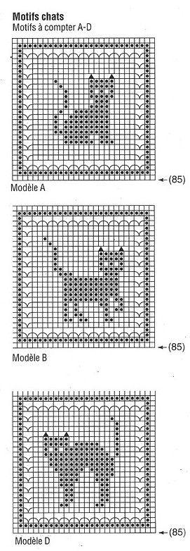 Animaux et leurs grilles gratuites , au crochet   Crochet ...