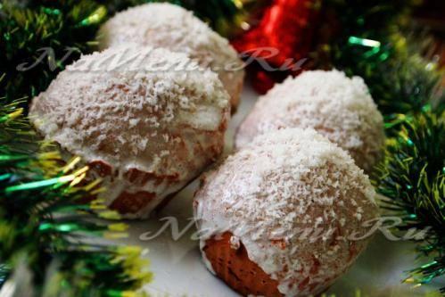 """Рождественские пряники """"Снежные шары"""""""