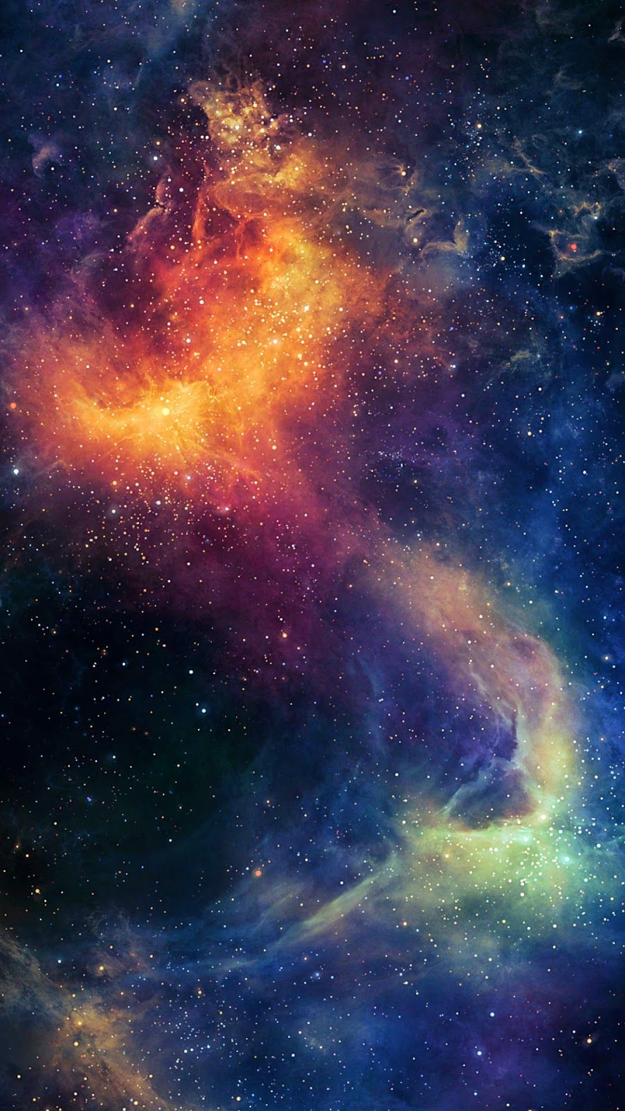 iPhone 6 wallpaper galaxy ♥ iPhone Wallpaper
