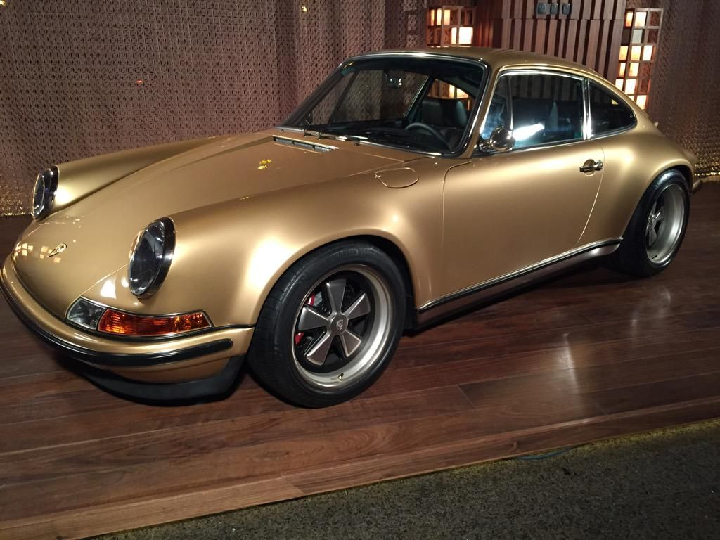 Front @singervehicles . Car I want most at the moment. It's stunning.