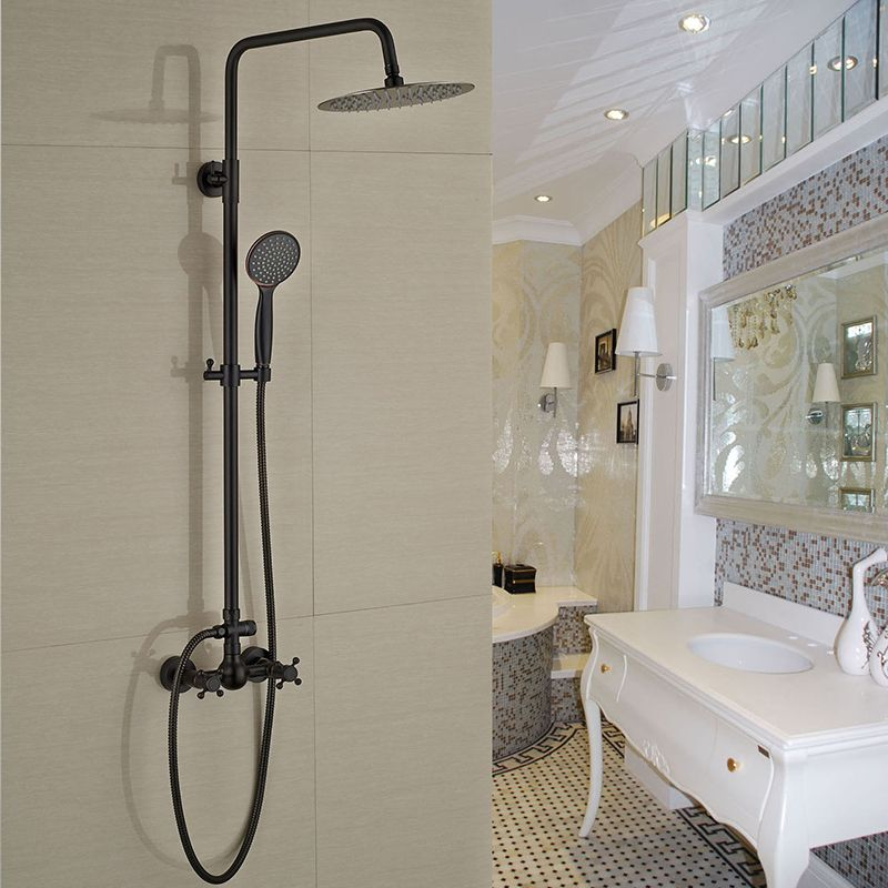 Good Quality Best Price ORB Finish Bathroom Shower Set Rain Shower ...