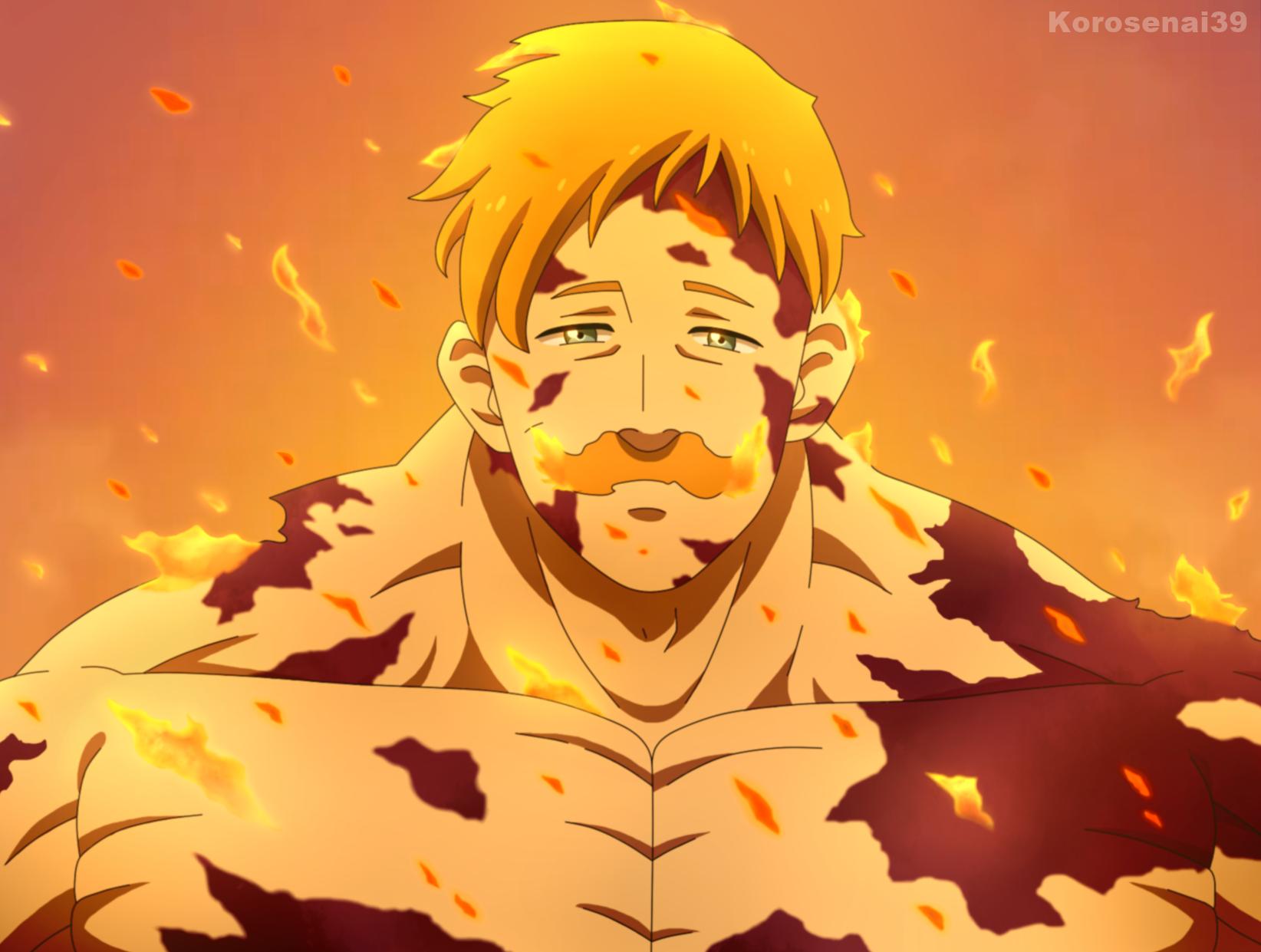 Escanor Nanatsu No Taizai By Korosenai39 On Deviantart In 2020 Seven Deadly Sins Anime Cyberpunk Anime Anime Chibi