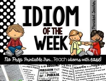 Idioms of the Week