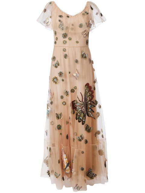 ea1dc94a10f1 VALENTINO embroidered tulle gown  19