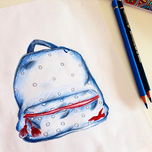 Did this for School, (this is My Schoolbag )