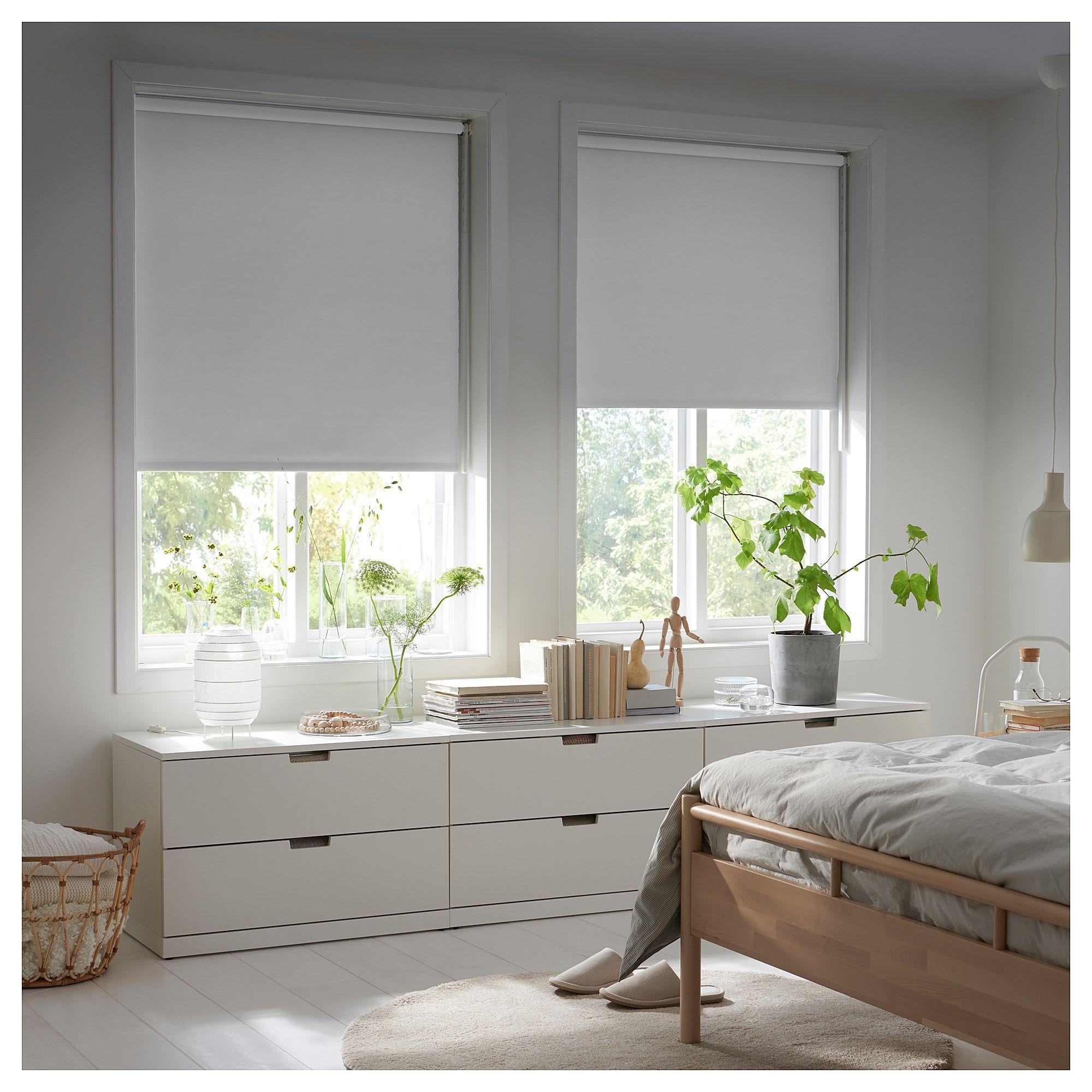 FRIDANS Verdunklungsrollo weiß (med bilder)  Rullgardin, Ikea