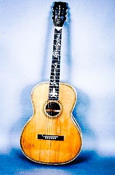 Folk singer Jimmy Rodgers 1928 Weymann custom guitar.....