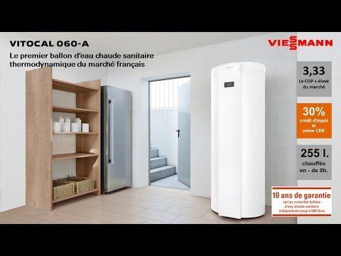 Ballon thermodynamique Vitocal 060-A -   wwwmaisonetenergie