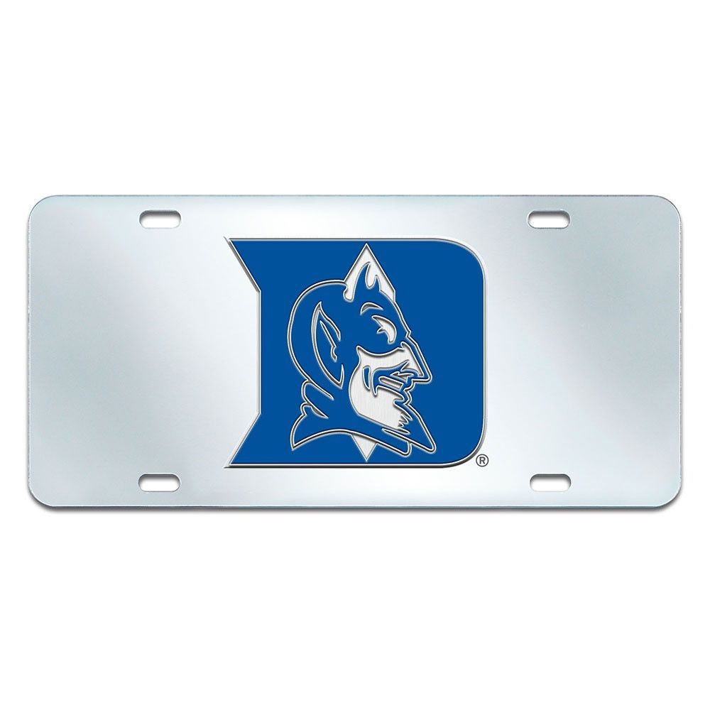 Duke Blue Devils NCAA License Plate Inlaid