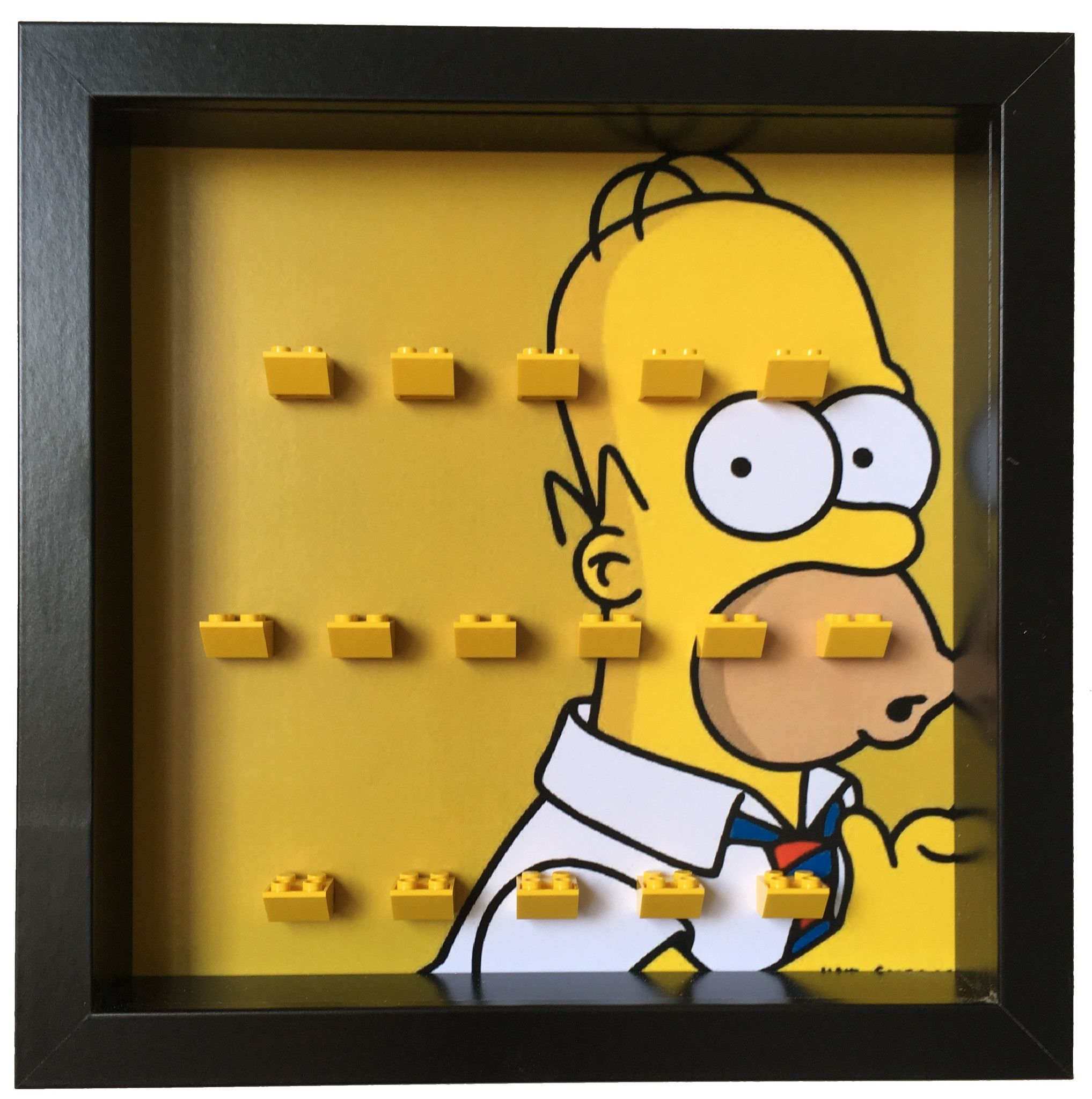 Lego Homer Simpsons minifigures frame | Homer simpson, Lego and ...
