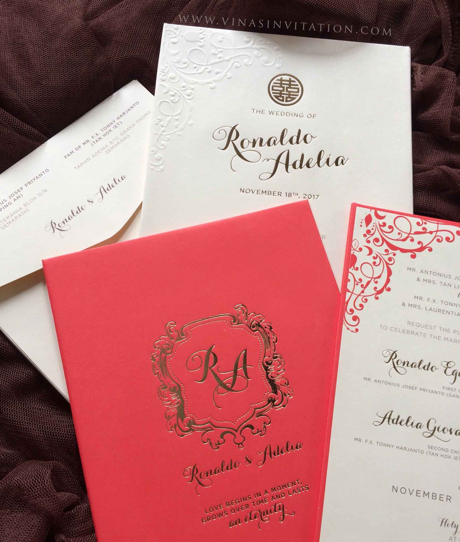 vinas invitation wedding invitation semarang wedding invitation